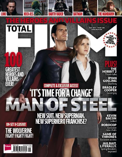 Superman และ Lois Lane ขึ้นปก Total Film