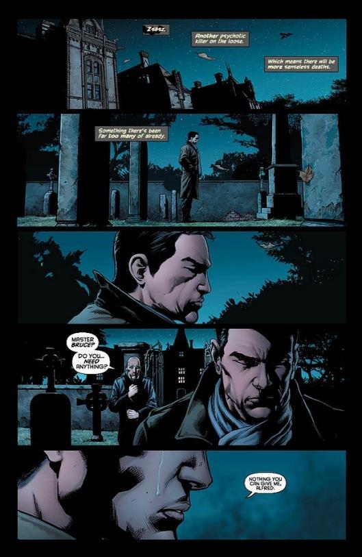 บรูซ เวย์น หลั่งน้ำตาในพรีวิว : Detective Comics #18