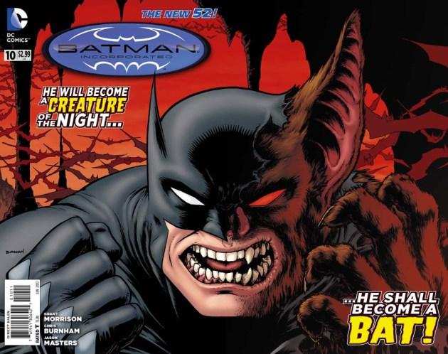 Azrael กลับมาแล้วในเล่ม Batman Inc #10