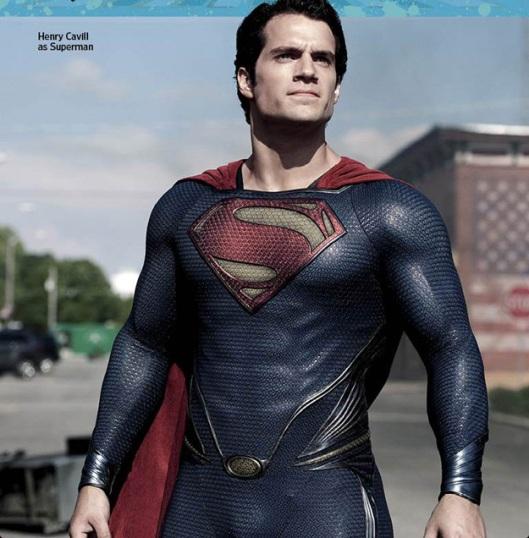 ภาพใหม่และข้อมูล Man of Steel จากนิตยสาร Entertainment Weekly